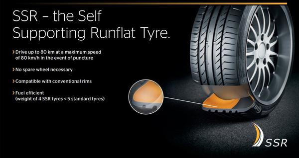 Continental ContiSportContact 5 SUV SSR RunFlat (3)
