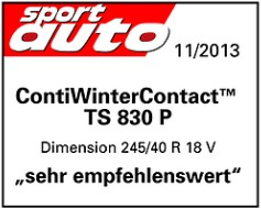 Continental ContiWinterContact TS830 SUV (1)