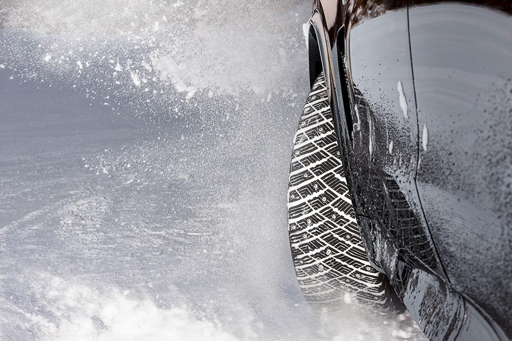 Goodyear Ultra Grip Ice Arctic SUV управляемость