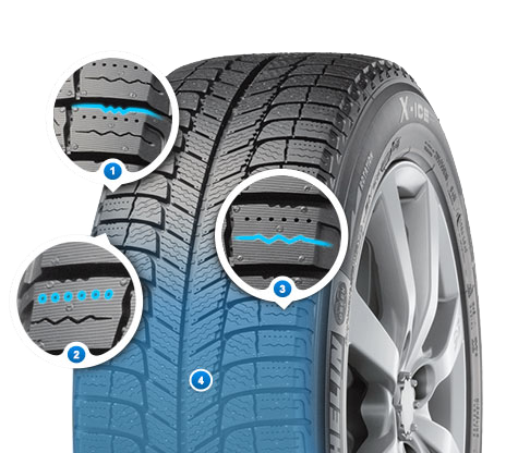 Michelin X-Ice 3 ZP Runflat (2)